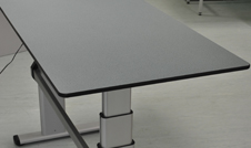 height adjustable desk solution for DDA compliance