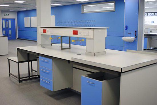 reagent shelving for hospital laboratory furniture