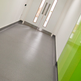 Laboratory Flooring Installation Interfocus