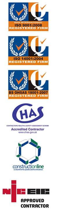 interfocus accreditation logos