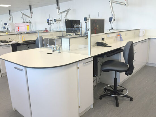 commercial cosmetic laboratory