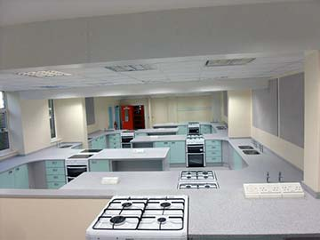 cromer academy food technology classroom