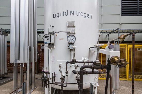 nitrogen special gas