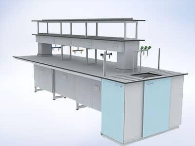 i3 cantilever frame laboratory system