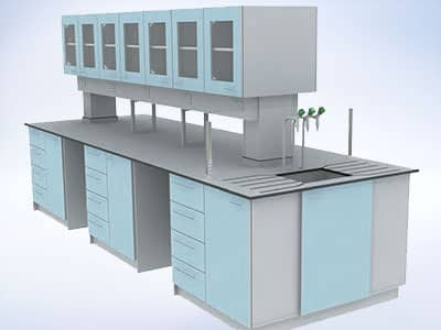 i5 fixed furniture laboratory system