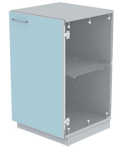 laboratory furniture cupboard features