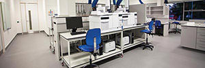 laboratory refurbishment and fit out