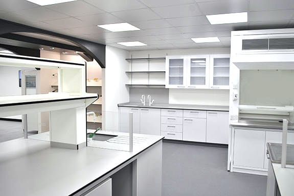 interfocus laboratory furniture showroom