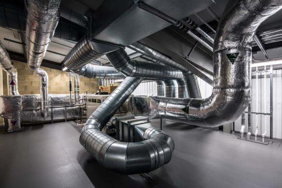 full lab plant room
