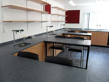 st clares oxford school laboratory installation