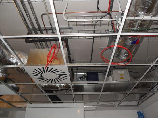 laboratory fresh air installation