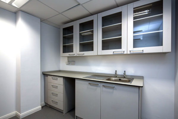 laboratory wall cupboards with or without glass