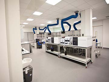welsh water turnkey laboratory solution