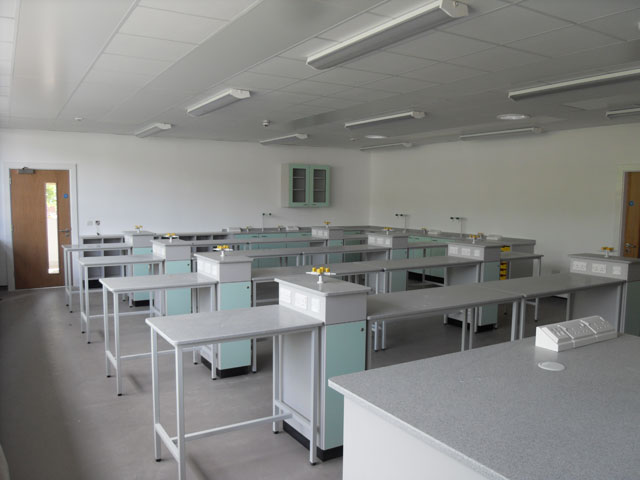 Lab Layout Loughborough High School