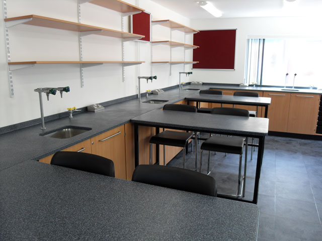 Desk Banks - Science Classroom