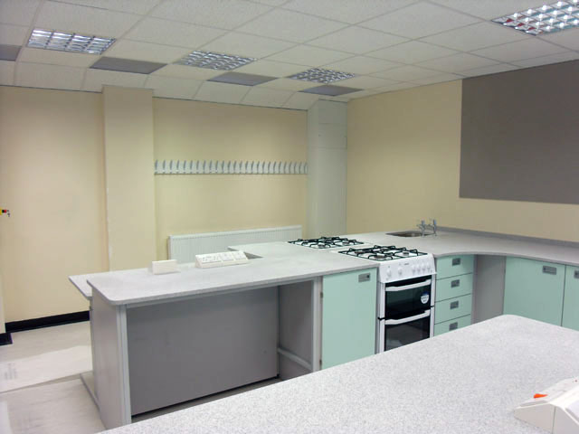 Food Tech Classroom Fit Out