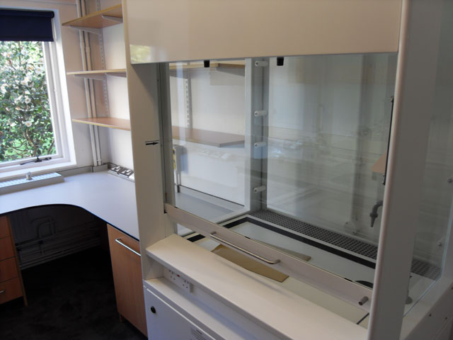 Fume Cupboard - Science Classroom