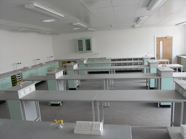 Science Classroom Layout Design