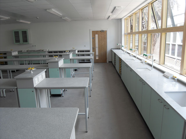 Large Science Classroom Layout