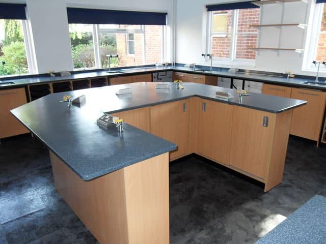 St Clares Science Classroom Refurbishment