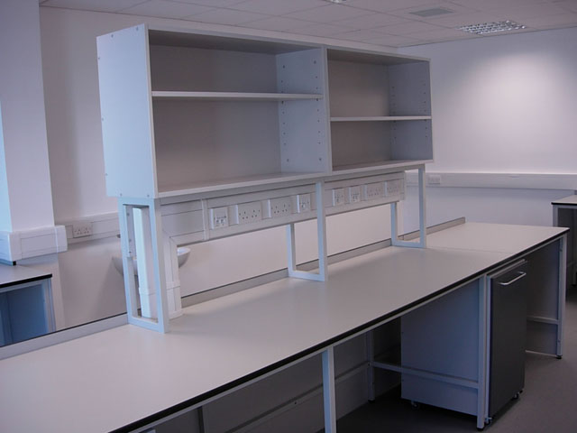 Desk Installation in Laboratory