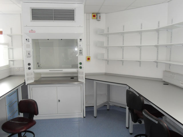 Fume Cupboard Install at Kings Cross Hospital