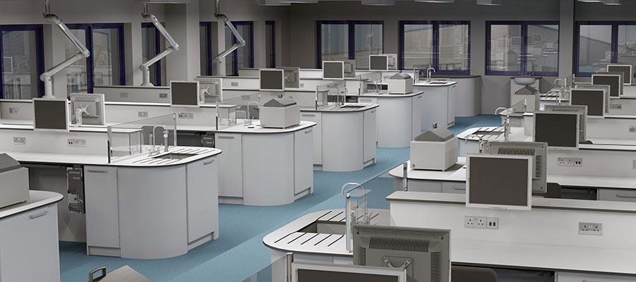 client 3D lab concept design