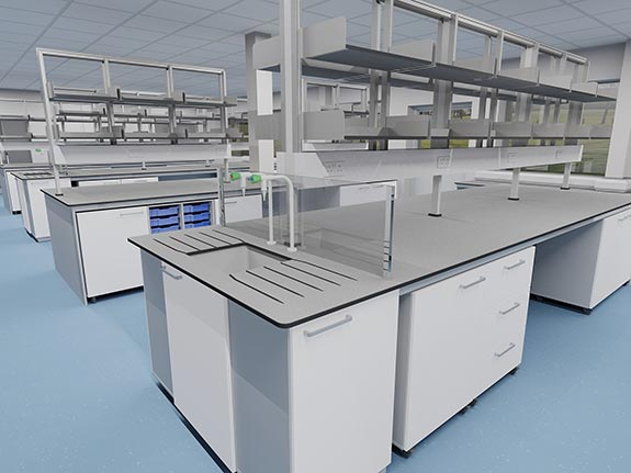 BIM Laboratory Furniture Design | Interfocus