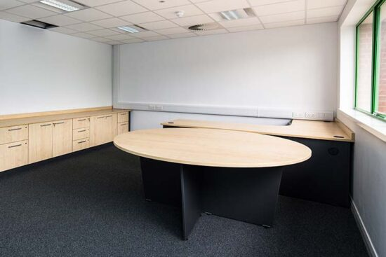small office meeting desk