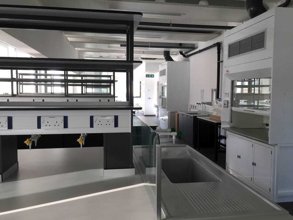 lab furniture manufacturer and install by interfocus