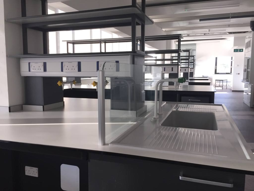 laboratory furniture installation contract for kier construction