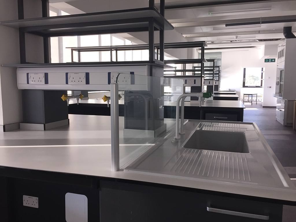new lab facility for dept of zoology