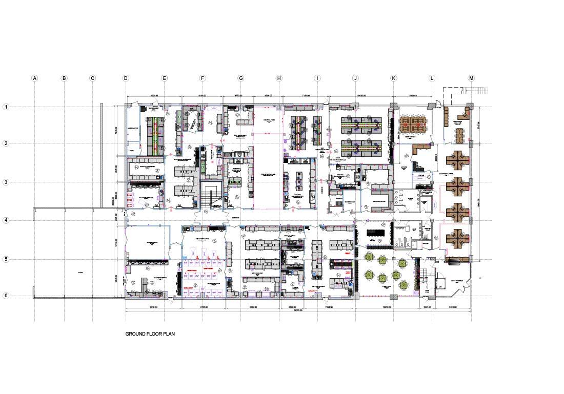 ground floor laboratory area