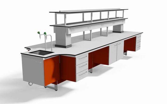 3D laboratory bim block by interfocus