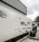back up laboratory power generators