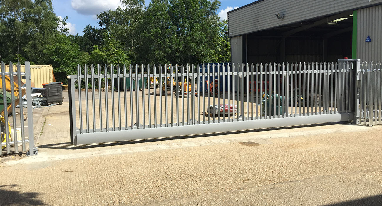 turnkey lab security gates installed