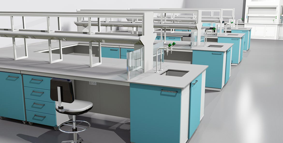 3D laboratory design and build