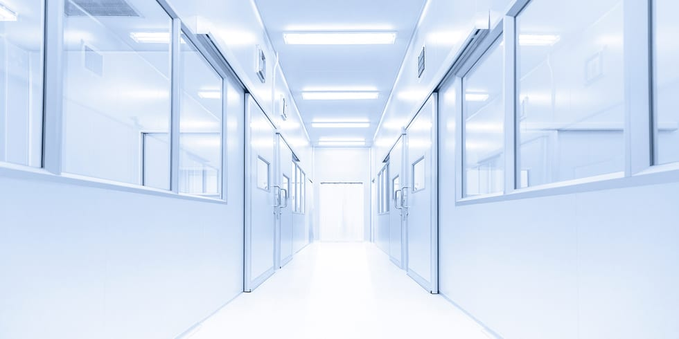 modern interior laboratory