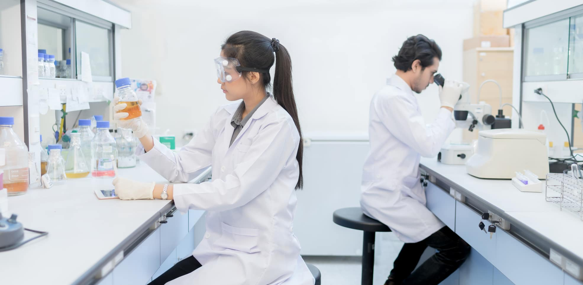 Handling Stress in a Laboratory Environment