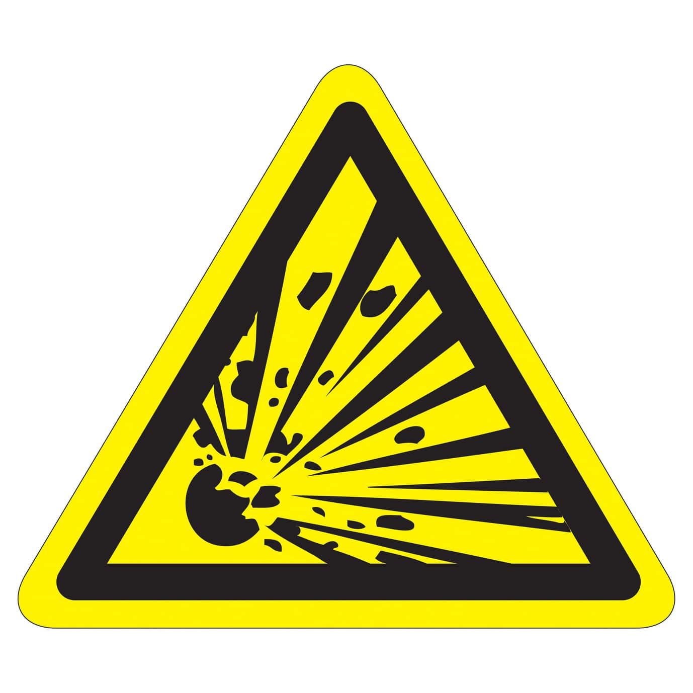 A visual guide to science safety symbols in a laboratory chemicals with explosive properties should be labelled with this symbol this includes unstable explosives that can result in chemical reactions that cause biocorpaavc